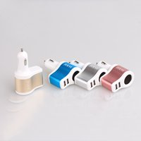 Wholesale Ipad Power Ic - Dual USB 3.1A IC Car Cigarette Lighter Socket Charger Power Adapter for iPhone iPad Samsung HTC LG Xiaomi & More