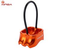 xinda climbing оптовых-Xinda Belay Rappel Устройство для спорта на открытом воздухе Альпинизм Альпинизм Rappelling Скалолазание Belay Rescue DeviceRope 8-13 мм