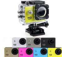 Wholesale Full Hd Professional Video Camera - 7 col SJ4000 1080P Full HD Action Digital Sport Camera 2 Inch Screen Under Waterproof 30M DV Recording Mini Sking Bicycle Photo Video Cam