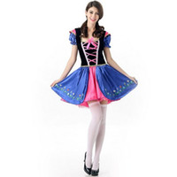 Wholesale cosplay sexy hot maid for sale - 2017 Beer Festival Maid Dress Sexy Cosplay Halloween Costumes Uniform Temptation Traditional Club Party Clothing Hot Selling