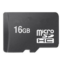 Real 16G MircoSD 16 Go Micro SD Carte mémoire TF C10 pour Android Smartphone Tablet