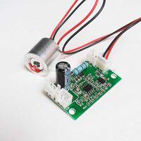 Wholesale Red Laser Module Ttl - Wholesale-650nm 100mW Diode Red Laser Module + Free Laser Driver Board(DC5V input, 808nm 532nm&650nm + TTL)