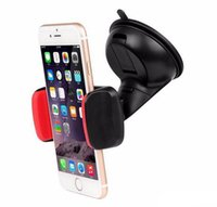 Wholesale gps car tracker iphone for sale - Group buy New Universal Car Windshield Mount Holder Phone Car Holder For iPhone S C S S MP3 iPod Samsung HTC GPS Tracker