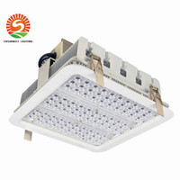 Wholesale Led Lighting For High Bay - Explosion proof canopy lights finned radiator 100W 150W 180W LED high bay light for GAS Station lights warehouse lamp 5 years warranty