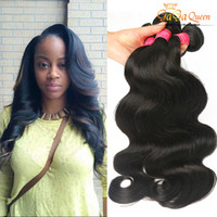 Wholesale hot companies - Wholesale Hot Anno Hair 8A Best Quality Brazillian Virgin Hair Body Wave Grace Company Brazilian Body Wave Cheap Human Hair Weave 3Bundles