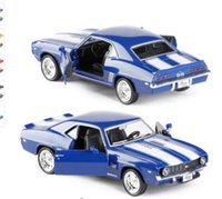 Wholesale Vintage Toy Collection - Brand New 1 36 Scale USA 1969 Chevrolet Camaro SS Vintage Diecast Metal Car Model Toy For Collection Gift Kids