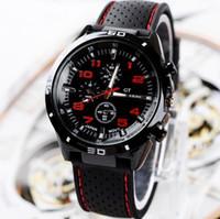 izgaraları izle toptan satış-Grand Touring fasion erkekler spor saatler için En kaliteli lüks İzle mens saatler mens watchs için hediye