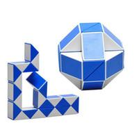 Wholesale Magic Ruler Puzzle Shengshou - 2 pcs Lot Magic Cube Puzzle Shengshou Magic Ruler Cube Snake Twist Puzzle Educational Toy for Children 4 Colors randomly send