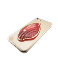 Wholesale Iphone Pearl Pink - Luxury Pearl Liquid Glitter Quicksand Girl Shell Cover Soft TPU Phone Case For iphone 7 7 plus OPP BAG