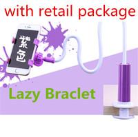 Wholesale long arm holder online – 360 Degree Flexible Long Arms Phone Holder Universal Lazy Bracket For iPhone samsung Desktop Bed Tablet Stands