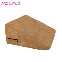 Wholesale positions for sex toys for sale - Group buy Sex Pillow Sofa Bed Cushion Triangle Wedge Sponge Pad Chair Sex Furniture Sex Toys For Couples Adult Games Positions Toys