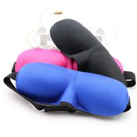 Wholesale Eyeshade Sleeping Eye Mask - Eyeshade Travel Sleep Eye Mask 3D Memory Foam Padded Shade Cover Sleeping Blindfold Mask Cover Eye Patch Sleeping Masks Case