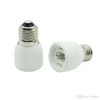 adaptateur de lampe achat en gros de-Haute qualité led lampe adaptateur E27 À G24 adaptateur Prise de courant ignifuge matériel douille Livraison gratuite