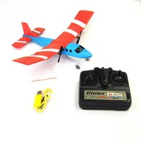 Vente en gros- Electric Mini Colorful Télécommande Aircraft Foam rc avion