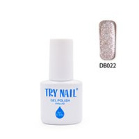 Wholesale Nail Polish Promotions - Wholesale- TRY NAIL New Arrival Promotion Top Quality Soak Off Gel Varnishes Brown Pink Gorgeous Color Cheap Nail Gel Polish(DB001~DB030)