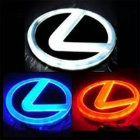 Wholesale Light Rear For Cars - 4D LED Car Logo Light Rear Back Car Badge Light Auto LED Emblem for Lexus