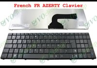 Wholesale Asus Notebook Keyboards - Genuine New Notebook Laptop keyboard FOR ASUS N50 G51 G51J G51VX Black French FR Version - MP-07G76F0-528