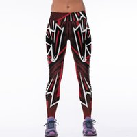 Wholesale New Designs Leggings - New Style High Stretch Yoga Pants Leggings For Women Mesh Splicing Design Running Pants Fitness Gym Sports Pants