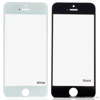 Wholesale Wholesale Mirrored Bar - Touch Screen Digitizer Mirror Glass for IPhone 5 5C 5S Black white B0349 New Free shipping