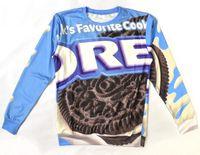 Wholesale Oreo Cookies - Wholesale-Alisister Funny OREO hoodie sweatshirt Printed Women Men milks favorite cookies sweatshirts fashion 3d Hoodies Pullover