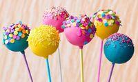 Wholesale chocolate bakery resale online - New Arrive Colorful Cake Pop Lollipop Stick Paper Lollypops Candy Chocolate Sugar Pen Dessert Decoration Tools Bakery Accessories CM