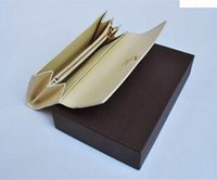Wholesale Wallets Three Zippers - New Fashion Unisex Genuine Leather Men Clutch Wallets Three Women Long Wallet