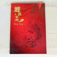 Wholesale Tattoo Book Carp - A3 Sizes Wholesale-Carp KingTattoo Designs Books Tattoo Flash Book 68 Pages TB2251