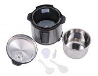 Wholesale Pressure Cooker Pots - Black 1000-Watt 6-Quart Electric Pressure Cooker Brushed Stainless