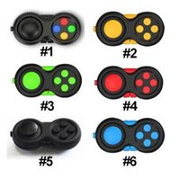 Wholesale Magic Pads Retail Packaging - 2017 Novelty Fidget Pad Second Generation Magic Fidget Cube Fidget Hand Shank Adults Kids Anxiety Decompression Toys with retail package DHL