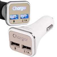 Wholesale car charge galaxy note for sale - Dual USB Adaptive QC2 LED Quick Charge Super Fast Car Charger For Samsung Galaxy Note S6 S7 Edge S8 S8 plug for iphone