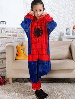 Wholesale Minions Kid Sleepwear - Boy Girl Pajamas Children New Unisex Pajamas Spiderman Minions Pikachu Kid Cartoon Animal Cosplay Pyjama Onesie Sleepwear KD-003