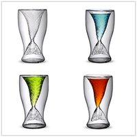 2017 Creativo cristallo Mermaid Cocktail Glass Cup bere tazza Design originale per i commerci all'ingrosso e al dettaglio gratuito DHL XL-G79