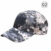 Wholesale Fitted Tactical Hats - Wholesale- Vogue Women Men Headwear Hats Unisex Tactical Cap American US Flag Patch Baseball Hat