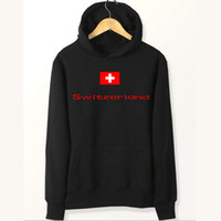 Schweiz flag hoodies Swit säurefeste sweat shirts Country fleece kleidung Pullover sweatshirts Outdoor sport mantel Gebürstete jacken