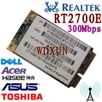Commercio all'ingrosso - PCI-E Express WLAN PC PCI-E REALTAK RT2700E Carta 300 Mbps 802.11 b / g / n Scheda WI FI