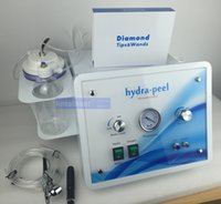 Wholesale Diamond Microdermabrasion Portable Machine - 2017 Portable 3 In 1 Hydrafacial Peel Diamond Microdermabrasion Oxygen Jet Peeling Hydra Facial Water Dermabrasion SPA Machine
