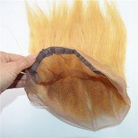 bakire peru saç demetleri dantel ön dantel toptan satış-# 613 Renk Dantel Frontal Perulu bakire saç striaght 360 kapatma demetleri ile 360 lace frontal dantel frontals saç uzantıları