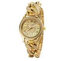 Wholesale Womans Buckles - Relogio Feminino Luxury Brand Women Dress Watches Steel Quartz Watch Diamonds Gold Watches For Womans Waches