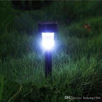 Wholesale Wholesale Plastic Ponds - Outdoor Plastic Lamp Led Lawn Yard Solar Powered Colored Light For Garden Pond Landscape Color Changing Lights Waterproof 3 5xy R