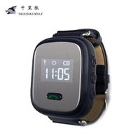 Anti-Lost Alarm Elderly Watch Phone SOS Anti-Lost GPS Tracking Watch для телефонов Iphone IOS для Android