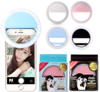 Wholesale Phone Light Charm - ISF Charm Eyes Smartphone LED Ring Selfie Light for iPhone 5 6s Plus Samsung HuaWei Vivo cell Phones