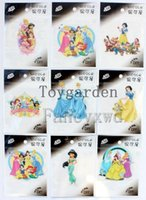 Vente en gros Princess T-Shirt Iron-on DIY Accessoire Patch Transfer Sticker 50pcs Toys