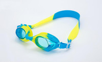 Wholesale Antifog Swimming Goggles - Underwater eyewears Kids swimming goggles PC lens antifog cartoon colored children under 13 years old swim goggles