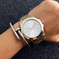 Wholesale Girls Wrist Bands - Fashion Brand Women's Girl stainless steel band quartz wrist watch GU03