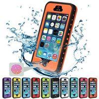 Wholesale Original Waterproof Iphone Case - Best selling Original multi-colors TPU PC Plastic Redpepper Waterproof phone Case For iphone 5 5S SE