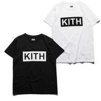 Wholesale Kith Shirt - Purpose Tour T Shirt Men Hip Hop Streetwear Box Logo Classic KITH Loose Style Brand Clothing Camouflage T Shirts Men Brand