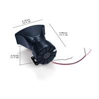 araba boynuzu yüksek toptan satış-Araba Elektronik 12 V 100 W Loud Siren Korna Hoparlör 4 Ses Tonu Araba Araç için