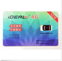 Wholesale Sim Unlocking Device - New iDeal Unlock Sim Card for iPhone 7 6S 6 Plus 5S 5 LTE iOS 10.3.2 10 R GPP