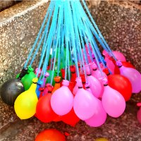 Wholesale 3 Bunches Water Balloon Bombs Toys Water Balloon Bunch Of Balloon Amazing Magic Kids Summer Beach Games Party Supplies