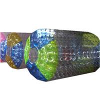 zorb für kinder großhandel-Wasserrollen-Rad-aufblasbare Rollenkugel Zorb PVC-materielle Erwachsene oder Kinder 2.4m 2.6m 3m mit freier Anlieferung